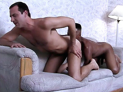 White Gay Ass Enjoy inky black Knobbing