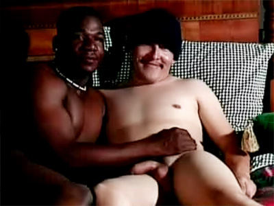 Black Gay Soloman Jerks His Buddy